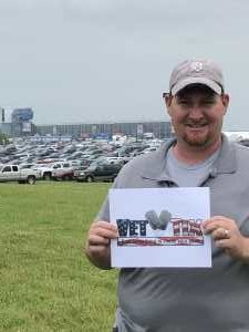 Philip B.  attended Firekeepers Casino 400 - Monster Energy NASCAR Cup Series on Jun 9th 2019 via VetTix