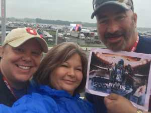 Ray attended Firekeepers Casino 400 - Monster Energy NASCAR Cup Series on Jun 9th 2019 via VetTix