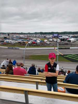 George attended Firekeepers Casino 400 - Monster Energy NASCAR Cup Series on Jun 9th 2019 via VetTix