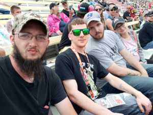 robbie attended Firekeepers Casino 400 - Monster Energy NASCAR Cup Series on Jun 9th 2019 via VetTix