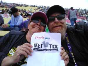 Gregory attended Firekeepers Casino 400 - Monster Energy NASCAR Cup Series on Jun 9th 2019 via VetTix