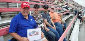 Morgan attended Firekeepers Casino 400 - Monster Energy NASCAR Cup Series on Jun 9th 2019 via VetTix