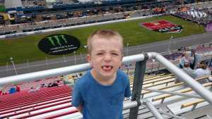 JC attended Firekeepers Casino 400 - Monster Energy NASCAR Cup Series on Jun 9th 2019 via VetTix