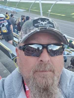 Phillip attended Firekeepers Casino 400 - Monster Energy NASCAR Cup Series on Jun 9th 2019 via VetTix