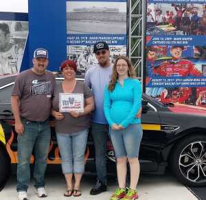 Stacey attended Firekeepers Casino 400 - Monster Energy NASCAR Cup Series on Jun 9th 2019 via VetTix
