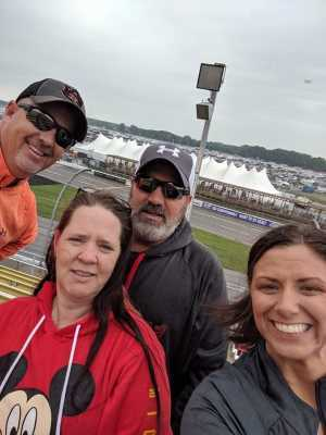 Michael attended Firekeepers Casino 400 - Monster Energy NASCAR Cup Series on Jun 9th 2019 via VetTix