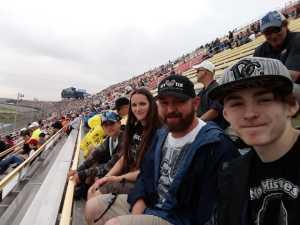Jason attended Firekeepers Casino 400 - Monster Energy NASCAR Cup Series on Jun 9th 2019 via VetTix