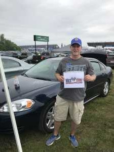 Larry attended Firekeepers Casino 400 - Monster Energy NASCAR Cup Series on Jun 9th 2019 via VetTix