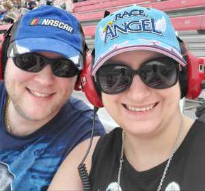 Jon and Dawn attended Firekeepers Casino 400 - Monster Energy NASCAR Cup Series on Jun 9th 2019 via VetTix