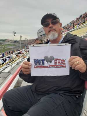 Ralph attended Firekeepers Casino 400 - Monster Energy NASCAR Cup Series on Jun 9th 2019 via VetTix