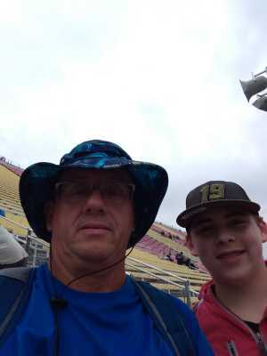 roger attended Firekeepers Casino 400 - Monster Energy NASCAR Cup Series on Jun 9th 2019 via VetTix