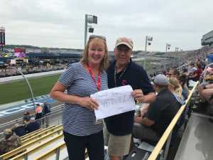 Gary attended Firekeepers Casino 400 - Monster Energy NASCAR Cup Series on Jun 9th 2019 via VetTix