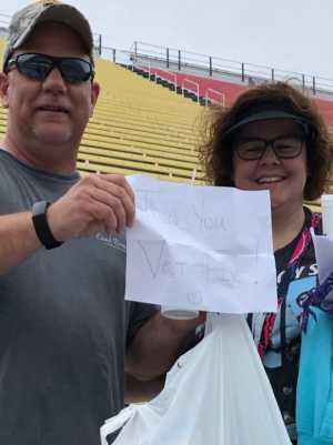 brian attended Firekeepers Casino 400 - Monster Energy NASCAR Cup Series on Jun 9th 2019 via VetTix