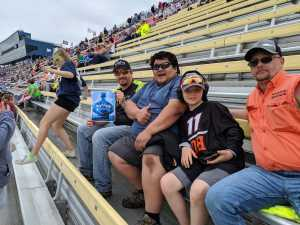 Kacey attended Firekeepers Casino 400 - Monster Energy NASCAR Cup Series on Jun 9th 2019 via VetTix
