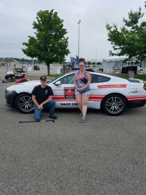 Robert attended Firekeepers Casino 400 - Monster Energy NASCAR Cup Series on Jun 9th 2019 via VetTix