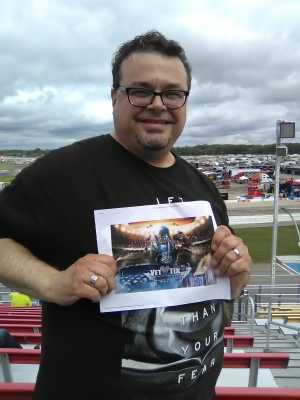 Scott attended Firekeepers Casino 400 - Monster Energy NASCAR Cup Series on Jun 9th 2019 via VetTix