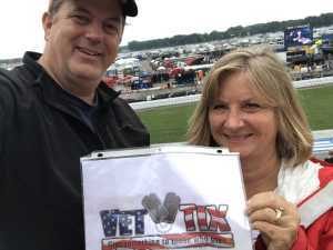 Ethan attended Firekeepers Casino 400 - Monster Energy NASCAR Cup Series on Jun 9th 2019 via VetTix