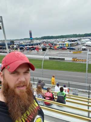 eric attended Firekeepers Casino 400 - Monster Energy NASCAR Cup Series on Jun 9th 2019 via VetTix