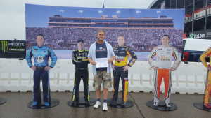 Prosper attended Firekeepers Casino 400 - Monster Energy NASCAR Cup Series on Jun 9th 2019 via VetTix
