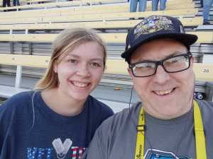 Christopher attended Firekeepers Casino 400 - Monster Energy NASCAR Cup Series on Jun 9th 2019 via VetTix