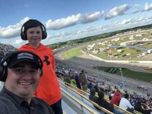 Adrian attended Firekeepers Casino 400 - Monster Energy NASCAR Cup Series on Jun 9th 2019 via VetTix