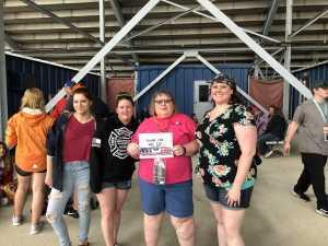 Pamela attended Firekeepers Casino 400 - Monster Energy NASCAR Cup Series on Jun 9th 2019 via VetTix