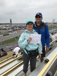 Dennis attended Firekeepers Casino 400 - Monster Energy NASCAR Cup Series on Jun 9th 2019 via VetTix