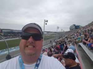 Rodney attended Firekeepers Casino 400 - Monster Energy NASCAR Cup Series on Jun 9th 2019 via VetTix