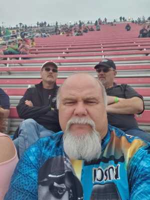 kelly attended Firekeepers Casino 400 - Monster Energy NASCAR Cup Series on Jun 9th 2019 via VetTix