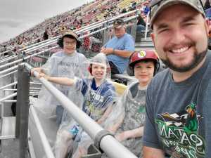 Daryl attended Firekeepers Casino 400 - Monster Energy NASCAR Cup Series on Jun 9th 2019 via VetTix