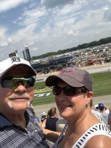 Charles attended Firekeepers Casino 400 - Monster Energy NASCAR Cup Series on Jun 9th 2019 via VetTix