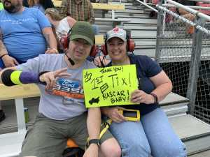 Polly attended Firekeepers Casino 400 - Monster Energy NASCAR Cup Series on Jun 9th 2019 via VetTix