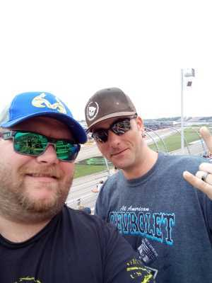 jeffrey attended Firekeepers Casino 400 - Monster Energy NASCAR Cup Series on Jun 9th 2019 via VetTix