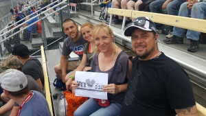 Lindsay attended Firekeepers Casino 400 - Monster Energy NASCAR Cup Series on Jun 9th 2019 via VetTix
