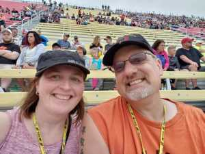 Jacob attended Firekeepers Casino 400 - Monster Energy NASCAR Cup Series on Jun 9th 2019 via VetTix