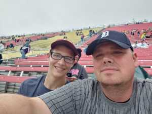 Darryl attended Firekeepers Casino 400 - Monster Energy NASCAR Cup Series on Jun 9th 2019 via VetTix