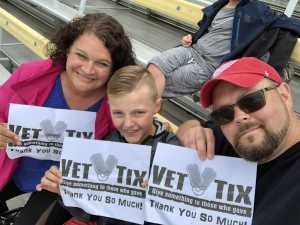 Jesse attended Firekeepers Casino 400 - Monster Energy NASCAR Cup Series on Jun 9th 2019 via VetTix