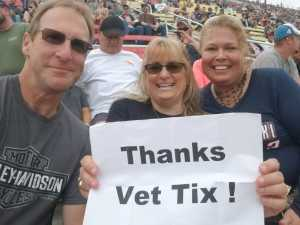 Douglas attended Firekeepers Casino 400 - Monster Energy NASCAR Cup Series on Jun 9th 2019 via VetTix