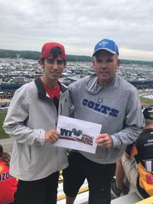 Steven attended Firekeepers Casino 400 - Monster Energy NASCAR Cup Series on Jun 9th 2019 via VetTix