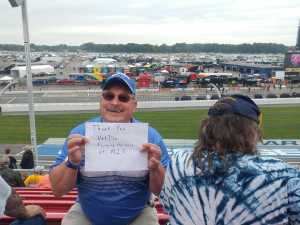 John attended Firekeepers Casino 400 - Monster Energy NASCAR Cup Series on Jun 9th 2019 via VetTix