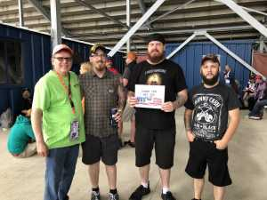 Justin attended Firekeepers Casino 400 - Monster Energy NASCAR Cup Series on Jun 9th 2019 via VetTix