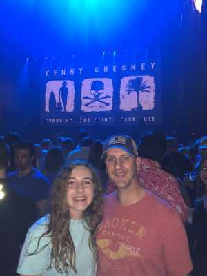 Phillip attended Kenny Chesney: Songs for the Saints Tour on Apr 19th 2019 via VetTix