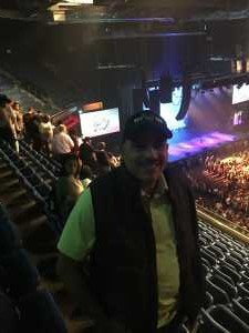 Edgar attended Cedric the Entertainer on May 11th 2019 via VetTix