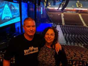 Danny attended Cedric the Entertainer on May 11th 2019 via VetTix
