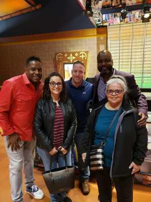 joseph attended Cedric the Entertainer on May 11th 2019 via VetTix