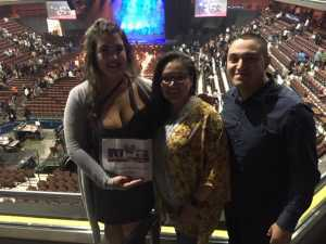 Patrick attended Cedric the Entertainer on May 11th 2019 via VetTix