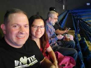 James attended Cedric the Entertainer on May 11th 2019 via VetTix