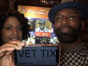 Will attended Cedric the Entertainer on May 11th 2019 via VetTix