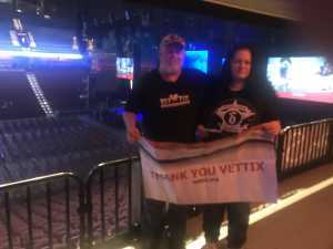 Bruce attended Cedric the Entertainer on May 11th 2019 via VetTix