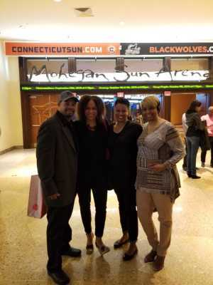 Tee attended Cedric the Entertainer on May 11th 2019 via VetTix